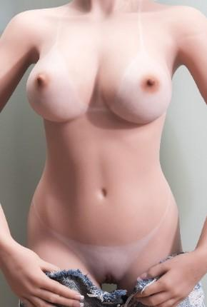 bikini line sex doll display