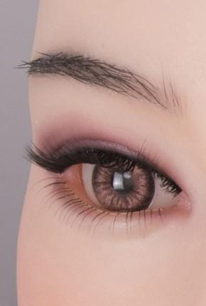Implant eyebrow for sex doll